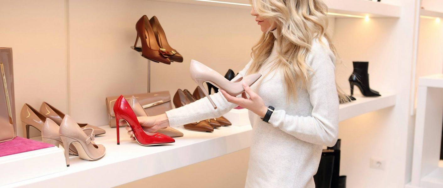 nieuwe schoenen kopen